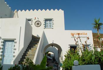 Hotel & Appartment in Patmos, Greece Pico Bello