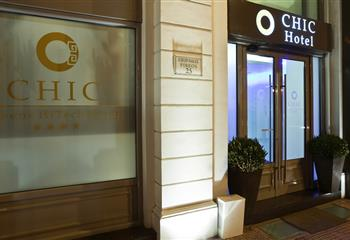 Hotel in Athens, Greece Chic Hotel