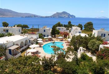 Hotel & Appartment in Amorgos, Greece Lakki Village
