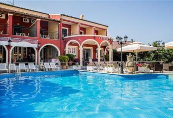 Hotel in Corfu, Greece Omiros Hotel