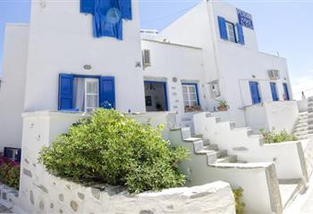 Pansion in Amorgos, Greece Pension Ilias