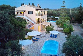 Hotel & Villa in Paxoi, Greece Galazio Sunset Villas