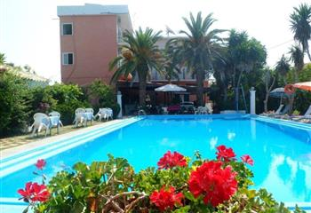 Hotel & Appartment in Corfu, Greece Hotel Angela
