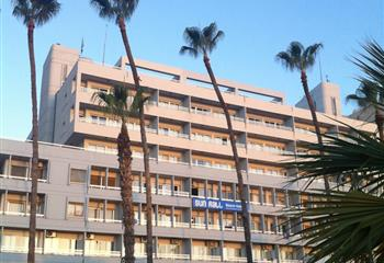 Hotel in Larnaca, Cyprus Sun Hall Beach Hotel Apartments