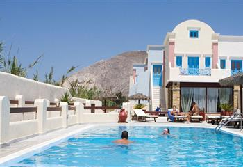 Hotel dentro Santorini, Greece Blue Diamond Bay
