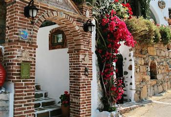 Hotel in Amorgos, Greece Pagali Hotel