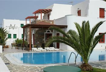 Hotel in Naxos, Greece Annita
