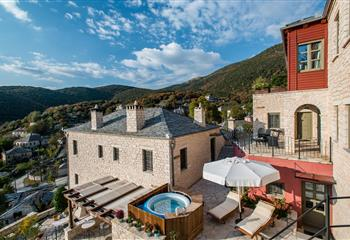 Hotel in Zagorochoria, Greece Pirrion Boutique Hotel