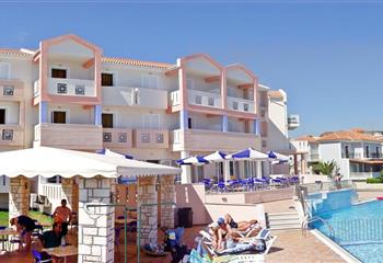 Hotel & Appartment in Zakynthos, Greece Xenos Kamara Beach