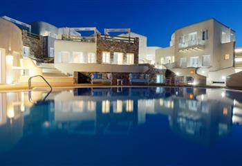 Hotel in Folegandros, Greece Aspalathras White Hotel