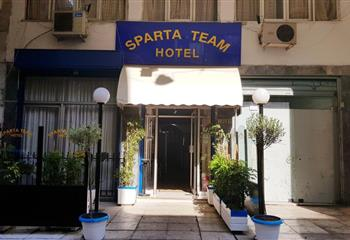 Hotel dentro Athens, Greece Sparta Team Hotel