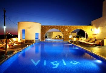 Hotel in Amorgos, Greece Vigla Hotel