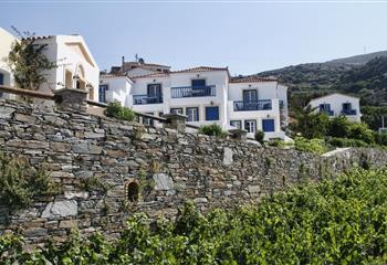 Hotel & Studio in Andros, Greece Blue Bay Resort Village