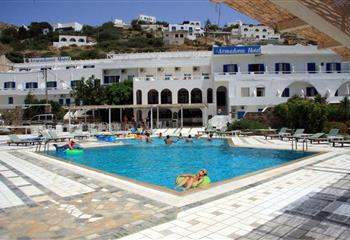 Hotel in Ios, Greece Armadoros Hotel / Ios Backpackers
