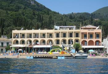 Hotel dentro Corfu, Greece Eros Beach Hotel
