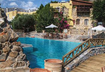 Hotel in Heraklion, Greece Arolithos Traditional Cretan Village