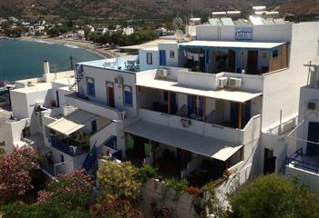 Pansion in Amorgos, Greece Aegeon Pension