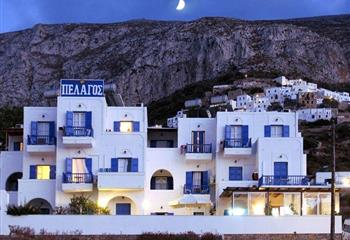 Hotel & Studio in Amorgos, Greece Pelagos Hotel